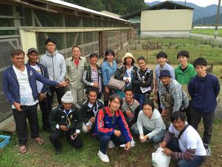 フィリピン農家さんと記念撮影