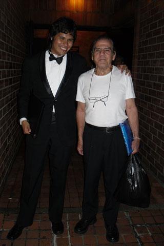 Presidente FD Alexander Ferms y Secretario General Maestro Gabriel Camargo Restrepo en 2011