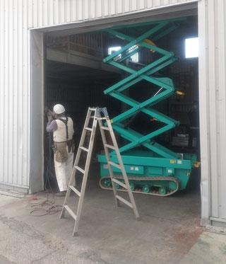 倉庫・工場の重量シャッター交換