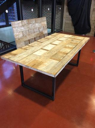 チーク古材テーブル