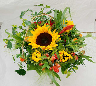 sunflower bouquet for delivery in vienna austria