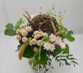 bouquet hortensia send to vienna
