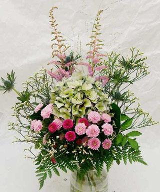 Hortensienstrauß Blumen verschicken Wien
