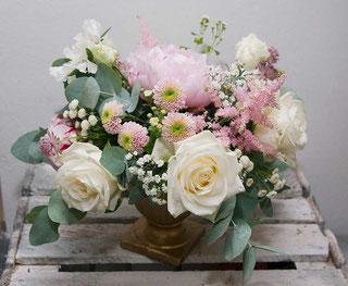 Blumendeko Hochzeit Wien bestellen Tischdeko