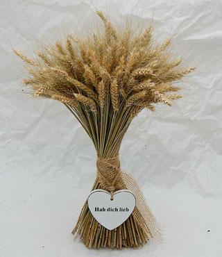 Strauß aus Getreide