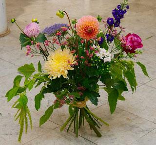 Bunter Blumenstrauß Blumen liefern Wien