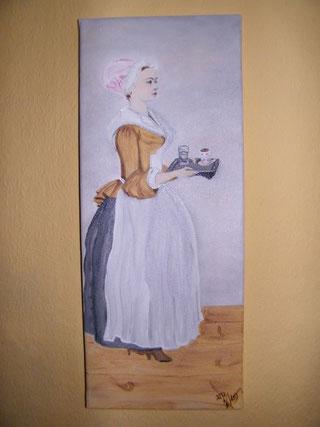 Nachbildung - Reproduktion - Schokoladenmädchen - Jean-Etienne Liotard