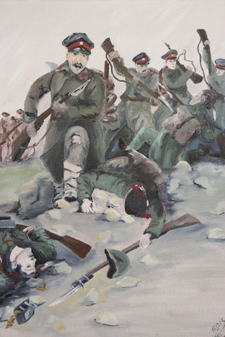 Nachbildung - Reproduktion - 1.Balkankrieg 1912-1913 von Yaroslav Veshin