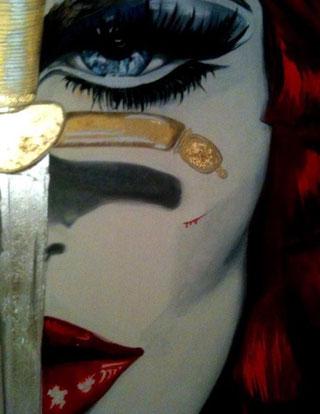 ° Part. Nineve oil on canvas 100x120 /nov.2012