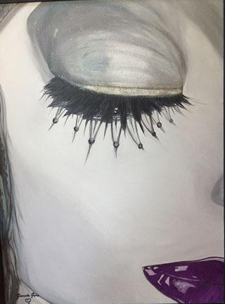 Blink oil on canvas 60x80 / 2011