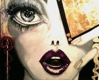 ° Sibilla oil on canvas 100x 120 / giu. 2012