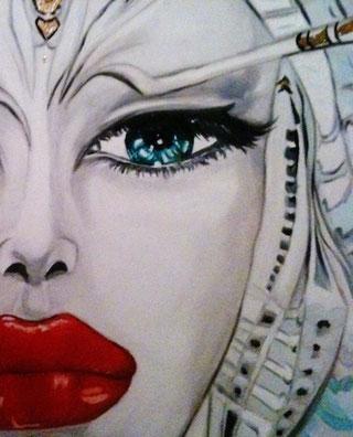 ° Part. venus oil on canvas 60x80 / 2012