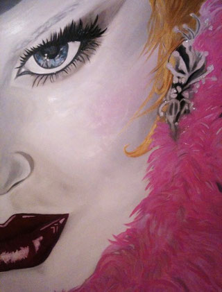 ° Pink oracle oil on canvas 80x120 / 2011