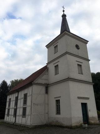Kirche Altwustrow Oderbruch-blog Märkisch Oderland Schweiz