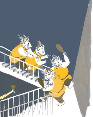 Heike Herold/ Britta Nonnast, Beltz und Gelberg/ Gulliver, 2011/2017, Illustration, Kinderbuch, Geschichten zum Vorlesen