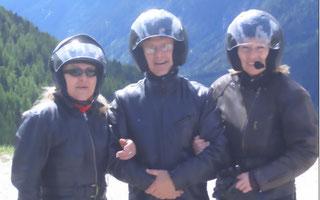 Silvia, Franz und Ute