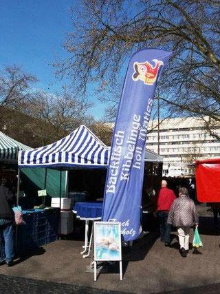 Wochenmarkt in Duisburg-Hamborn