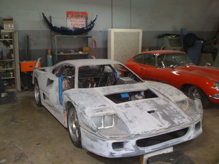 92 FERRARI F-40 LM CONVERSION