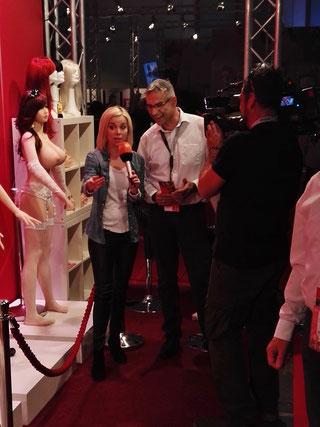 Das ZDF im Interview mit RS-Dolls Gründer Manfred Scholand
