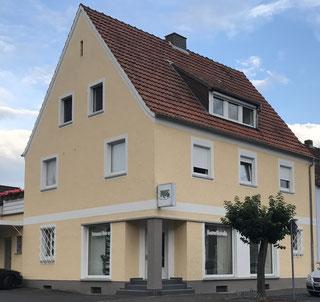 Kosmetikfachgeschäft  Marga Ries in der Hanauer Landtrasse 64, in Kahl Main.