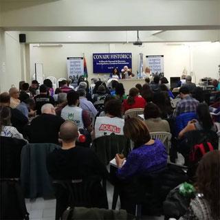 CONGRESO NACIONAL DE LA CONADU HISTÓRICA (21/03/2019)