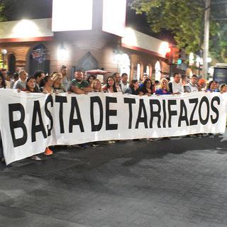 EL 14 DE MARZO MARCHAMOS CONTRA LOS TARIFAZOS (14/03/2019)