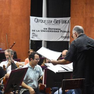 ENSAYO ABIERTO AL PÚBLICO DE LA ORQUESTA SINFÓNICA DE LA UNCUYO (30/03/2019)