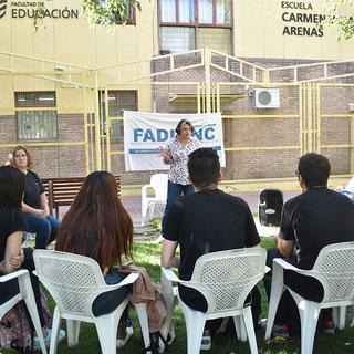 CLASES PÚBLICAS EN LA FACULTAD DE EDUCACIÓN (10/04/2019)