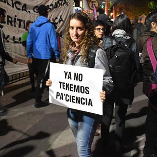 MARCHA CONTRA EL AJUSTE Y LA CRIMINALIZACIÓN DE LA PROTESTA (30/04/2019)