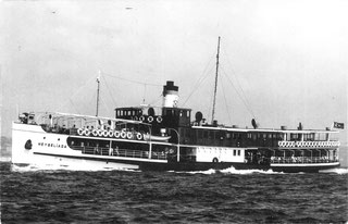 Dampfschiff HEYBELIADA, 1950 - Heybeliada Vapuru 1950, Bogazici Koleksiyon Arsivi - LEVANT KOLEKSIYON No: 304 - Mesrutiyet Cad. 64/B 34430 Beyoglu / ISTANBUL