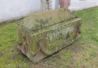 Sarkophag, Vorzustand