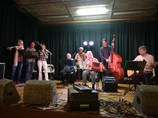 Boeuf avec Les éphémères, Anne-Céline, Florent et Yves