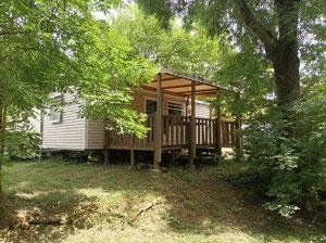 mobil home 3 chambres - camping gers de l'arros