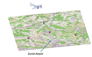 Mobile system for tracking aircraft