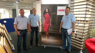 Bodentage bei HBK in Bredstedt, wir als HARO Partner sind dabei