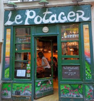 Restaurant Paris Montmartre Potager