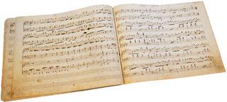 Альбом танцев, нотная рукопись, 1845, антикварные ноты для фортепиано