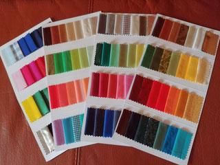 Farbfächer 4-Jahreszeitentypen