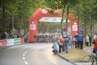 Start LBS-Cup im Münsterland Giro