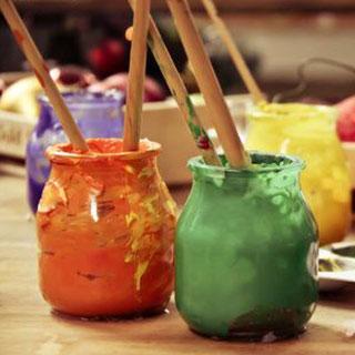 Kunst-Party, Geburstag, Kindergeburtstag, Kreative Geburtstag