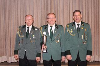 Von links: Stefan Brink, Wilfried Bahns und Günther Brink