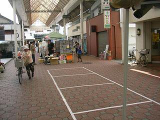四国中央紙まつり 街中フリーマーケット