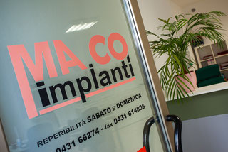 MA.CO impianti uffici Via Roma, 30A E 32  San Giorgio di Nogaro (Udine) -C.P. 33058