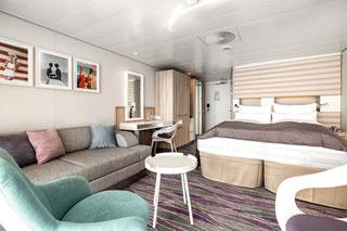Mein Schiff 1 Junior Suite Balkon | © TUI Cruises