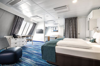 Familienkabine Außen | © TUI Cruises