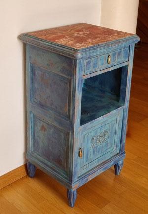 Relooking de meubles anciens haute-savoie Saint-Julien-en-Genevois entre Annecy et Genève