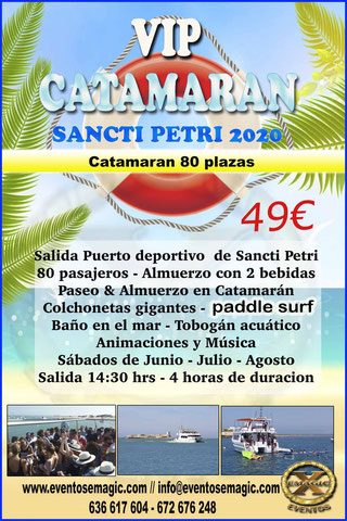 catamaran chiclana