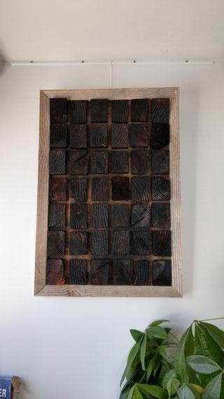 2018 - theme matière poétique - bois brulé  shou-sugi-ban charles-louis Alibert-sens