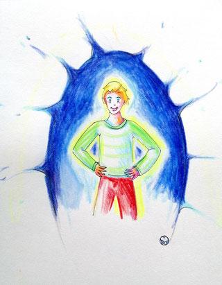 dessin, crayons de couleur, illustration, illustration jeunesse, severine saint-maurice, lescerclesdelumiere.com