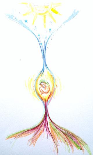dessins éclairé, severine saint-maurice, lescerclesdelumiere.com